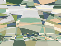 Abstract summer geometry background. Stock Photos