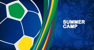 2019 Conmeball Copa America Abstract Brazilian Summer Game Competition vector sign Brazil. 2019 Conmeball Copa America Abstract green Brazilian Summer Game vector illustration
