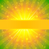 Abstract  summer sunshine background Royalty Free Stock Image
