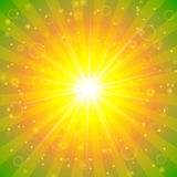 Abstract  summer sunshine background Royalty Free Stock Photos