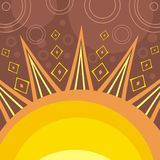 Abstract sun Stock Photos