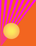 Abstract Sun Art 2 Royalty Free Stock Photography