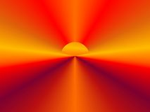 Abstract Sun Background. Or concept for a new beginning, new dawn, etc Royalty Free Stock Photos