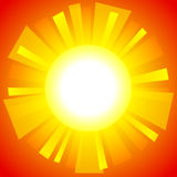 Abstract sun background. Abstract sun-shaped frame. EPS10 Royalty Free Stock Image