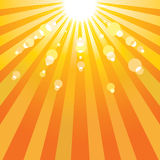 Abstract sun background. Royalty Free Stock Images