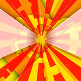 Abstract Sun Background Royalty Free Stock Photography