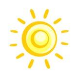 abstract sun Stock Image