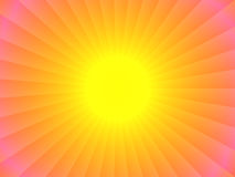 Abstract sun design Stock Photo