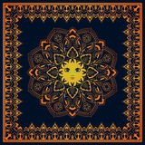 Abstract Sun. Royalty Free Stock Photo