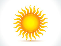 Abstract sun icon Royalty Free Stock Photography