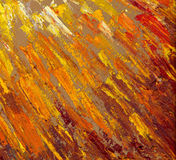Abstract sun rays. Oil painting Royalty Free Stock Photos