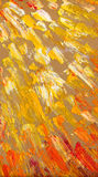 Abstract sun rays. Oil painting Royalty Free Stock Image