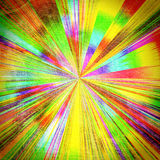 Abstract sun's rays Stock Photography