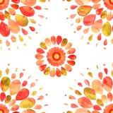 Abstract sun seamless pattern Stock Photos