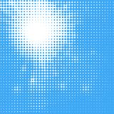 Abstract Sun in the sky Halftone Background Stock Images