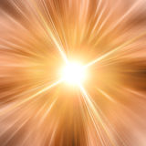 Abstract sun with summer rays Royalty Free Stock Photography