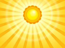 Abstract sun theme image 7 Royalty Free Stock Photography