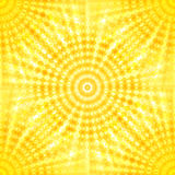 Abstract sun vector seamless pattern Stock Image