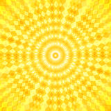 Abstract sun vector waves background Stock Image