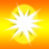 Abstract Sunburst Stock Image