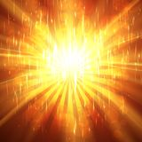 Abstract Sunburst ardent background. Stock Photography