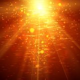 Abstract Sunburst ardent background. Royalty Free Stock Image
