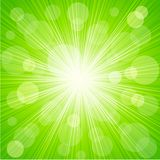 Abstract sunburst light background Royalty Free Stock Photos