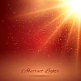 Abstract Sunlight Background Royalty Free Stock Photography