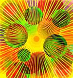 Abstract sunny background. Royalty Free Stock Photo