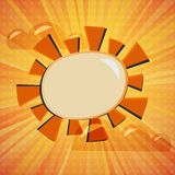 Abstract sunny background Royalty Free Stock Photography