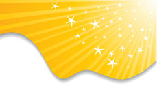 Abstract sunny background. Clip-art Stock Photo