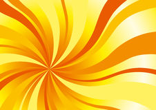 Abstract sunny background. In yellow and orange Stock Images