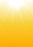Abstract sunny background. Abstract sunny lights background for Your design Stock Image