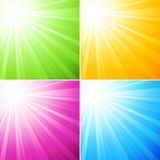 Abstract sunny background Stock Photography