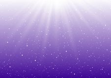 Abstract sunny lights on purple. Background Stock Photo