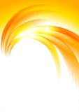 Abstract sunny orange background Stock Photos