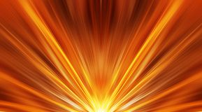 Abstract sunrise Royalty Free Stock Photo