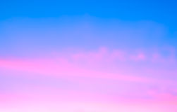 Abstract sunrise sky Stock Images