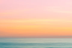 Abstract sunrise sky and  ocean nature background Royalty Free Stock Photography