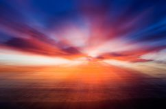Abstract sunset Royalty Free Stock Photography