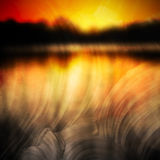 Abstract sunset background Royalty Free Stock Photo