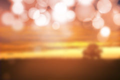Abstract sunset blurred background. Stock Image