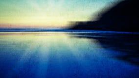 Abstract sunset Stock Photo
