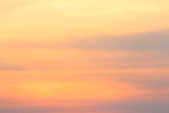 Abstract Sunset Stock Image