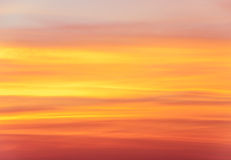 Abstract sunset sky background Stock Images