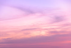 Abstract sunset sky background Royalty Free Stock Image
