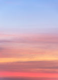Abstract sunset sky background Stock Image