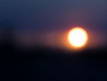 Abstract Sunset or Sunrise Stock Image