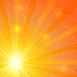 Abstract sunshine  background Royalty Free Stock Photo