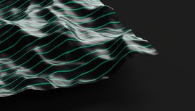 Abstract Surface. 3D Rendering Royalty Free Stock Photo